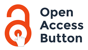 Illsutration of an open orange padlock with a computer icon pointer hand pointing to the center of the lock dial next to the words Open Access Button